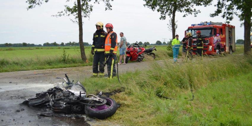 Motorrijder komt om bij eenzijdig ongeval