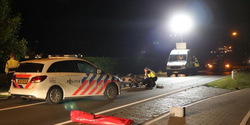motorrijder, overleden, ongeval, N618