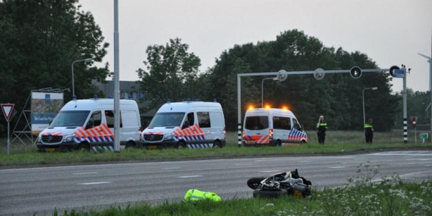 Twee gewonden na motorongeval in Spijkenisse