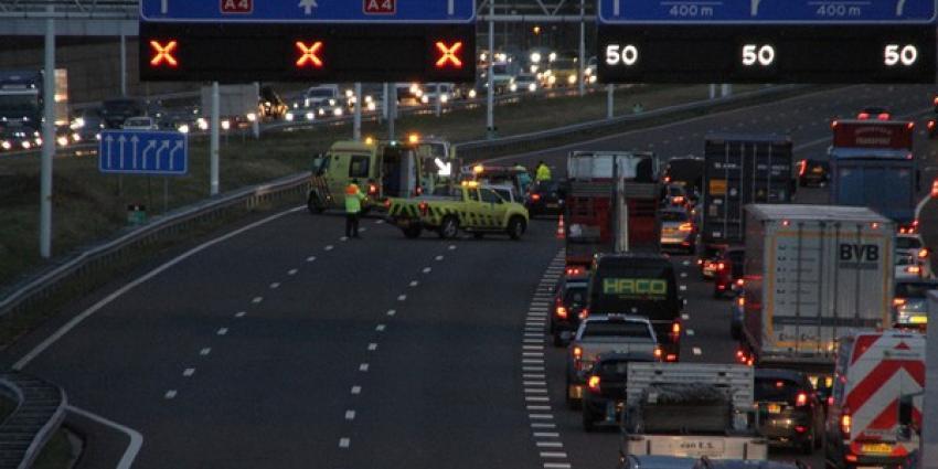 Ongeval nabij Beneluxtunnel