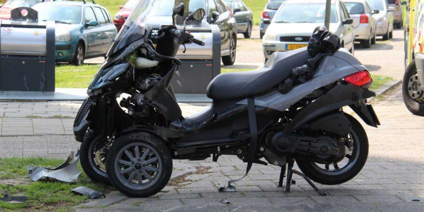 motorscooter-schade