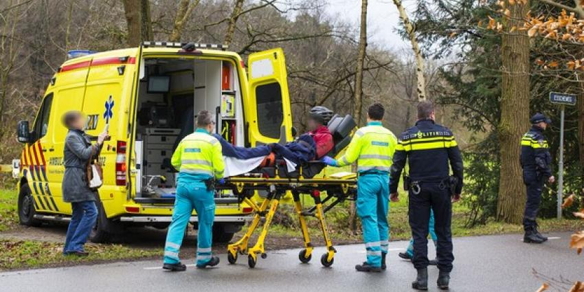 Mountainbiker gewond na valpartij op Esscheweg in Boxtel