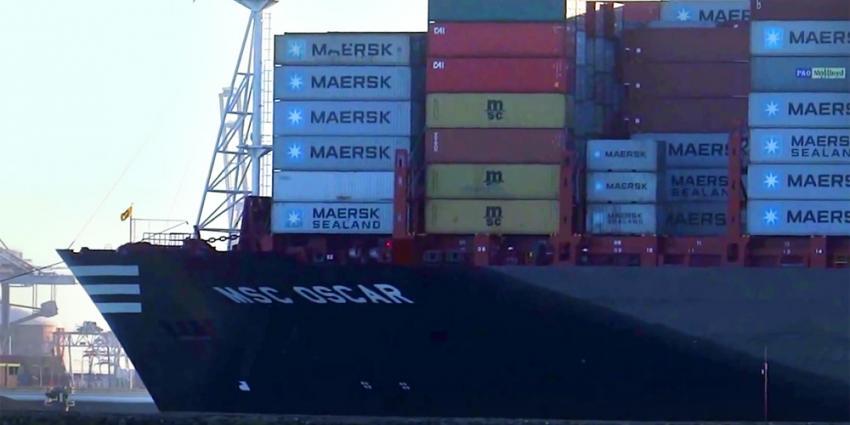 Minder goederen overgeslagen in Nederlandse zeehavens