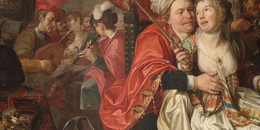 Vier schilderijen Westfries museum boven water