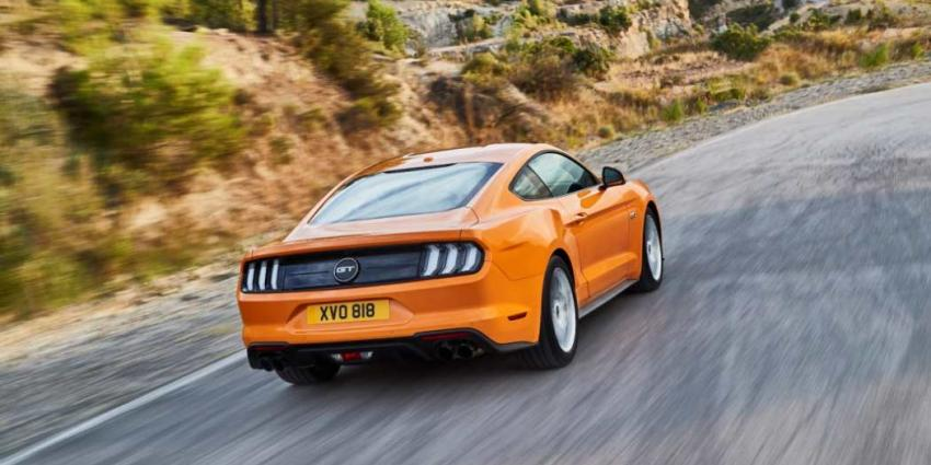 Ford onthult nieuwe Ford Mustang