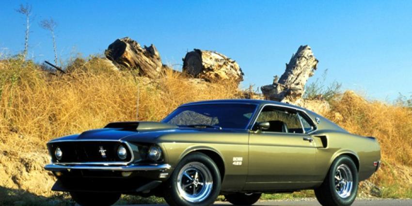 Ford Mustang meest gewilde klassieke auto van Europa