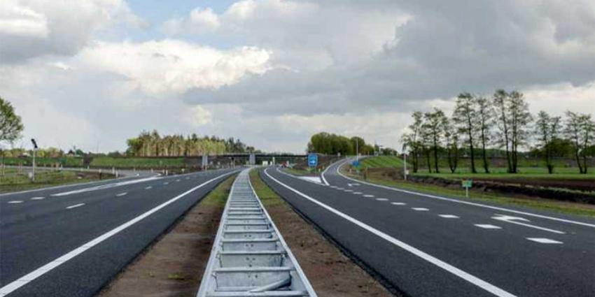 Nieuwe autoweg N18 tussen Groenlo-Enschede geopend