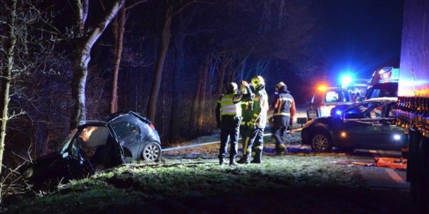 Zwaar ongeval op de N374 bij Drouwenermond