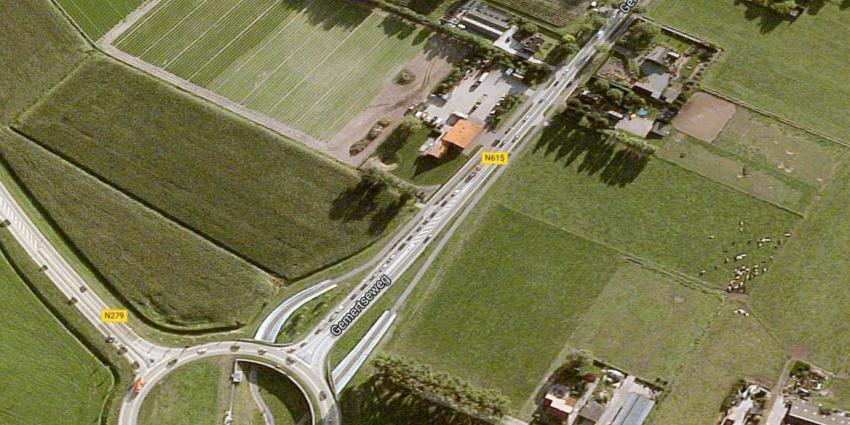 Linksafverbod op N615 in Beek en Donk