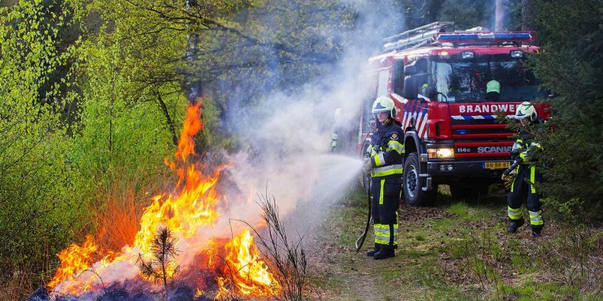 Felle brand op landgoed Venrode in Boxtel snel gedoofd