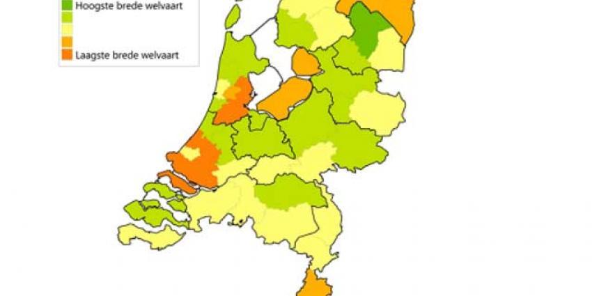 Mensen in Drenthe het meest gelukkig