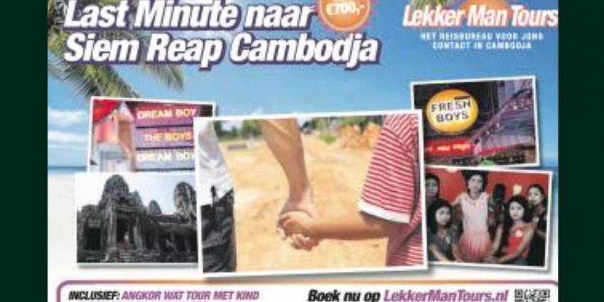 Schokkende advertentie is campagne tegen kindersekstoerisme