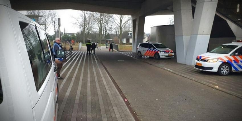 Agent mishandeld op metrostation Nesselande