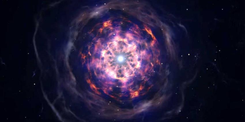 Botsende neutronensterren optisch en door LIGO-detectoren waargenomen