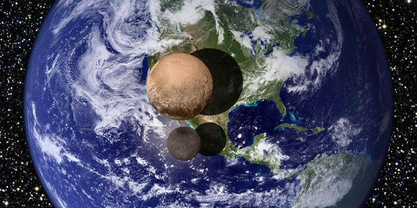 Ruimtezonde maakt opnames van dwergplaneet Pluto