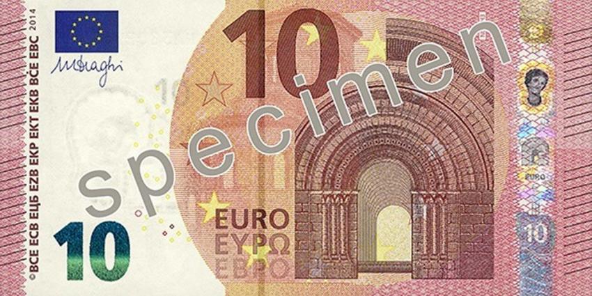 Foto van nieuwe 10-euro-biljet   ECB