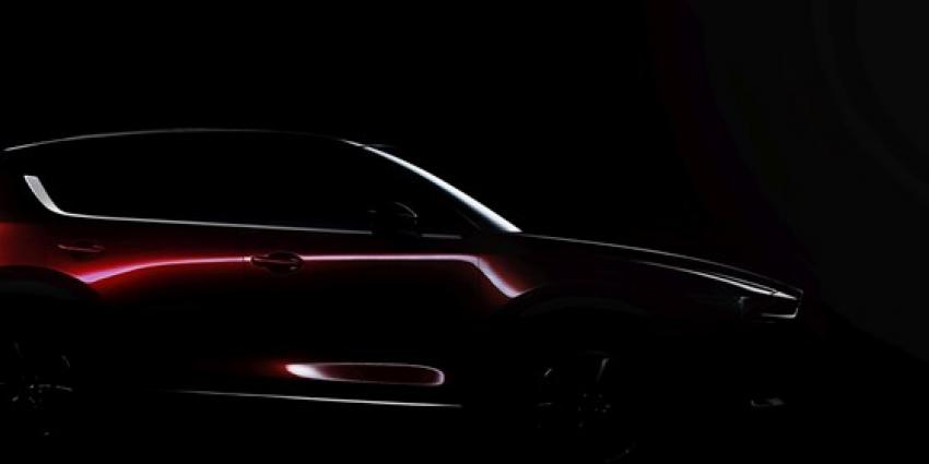 Wereldpremière nieuwe Mazda CX-5op Los Angeles Auto Show 2016