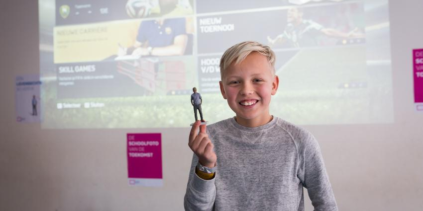 Basisschool in Amsterdam scant 700 leerlingen in 3D