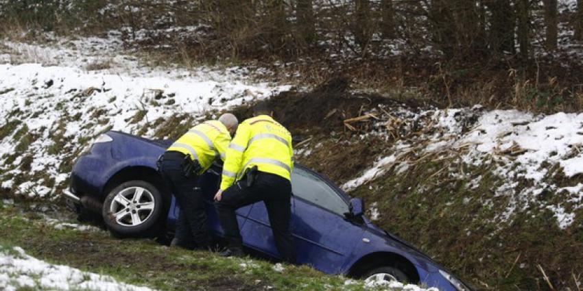 Ongeval N366 bij Nieuwe Pekela