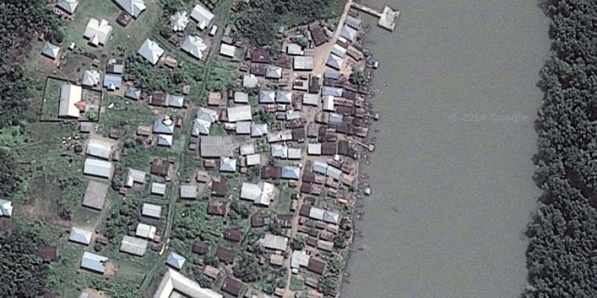 foto van stad Nigerdelta | Google Earth