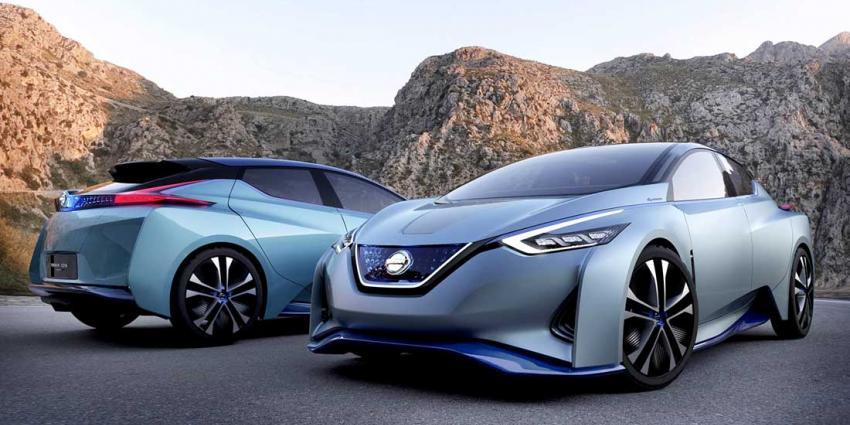 Nissan presenteert toekomstvisie op elektrisch en autonoom rijden:IDS