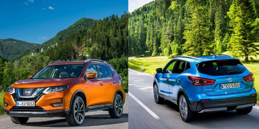 Nissan start met de verkoop van de nieuwe QASHQAI en X-TRAIL