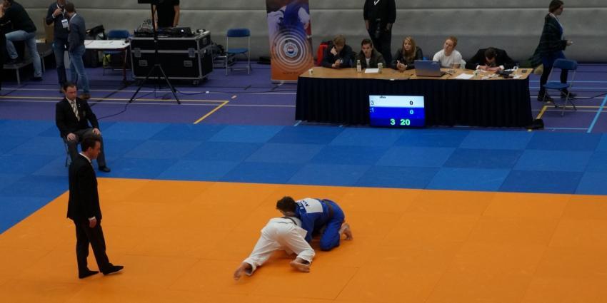 Druk bezocht judotoernooi in Heerenveen