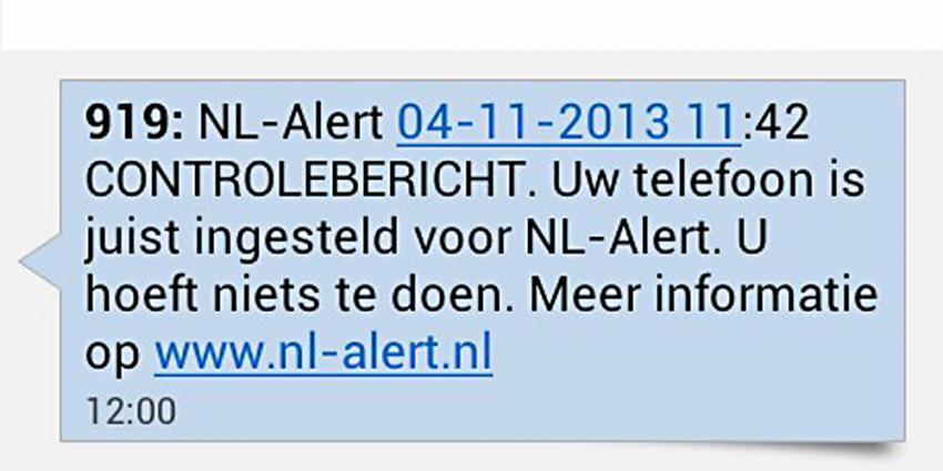4G netwerk KPN kan NL-Alert nu ook ontvangen
