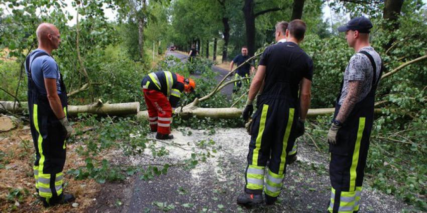 Noodweer in delen van Brabant