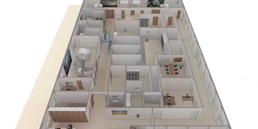 Nieuwbouw centrum nucleaire geneeskunde in Admiraal De Ruyter Ziekenhuis Goes