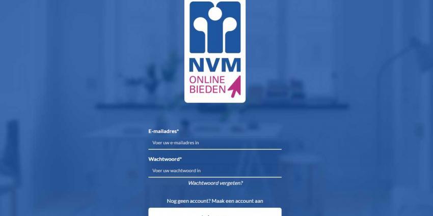 NVM doet test met online bieden op woningen