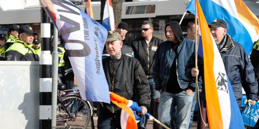 Zeven arrestaties bij demonstratie rechts tegen links