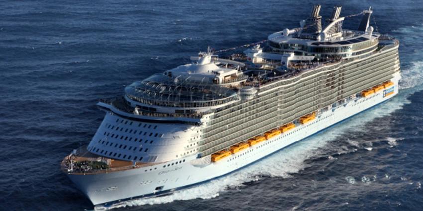 Grootste cruiseschip ter wereld komt naar Rotterdam
