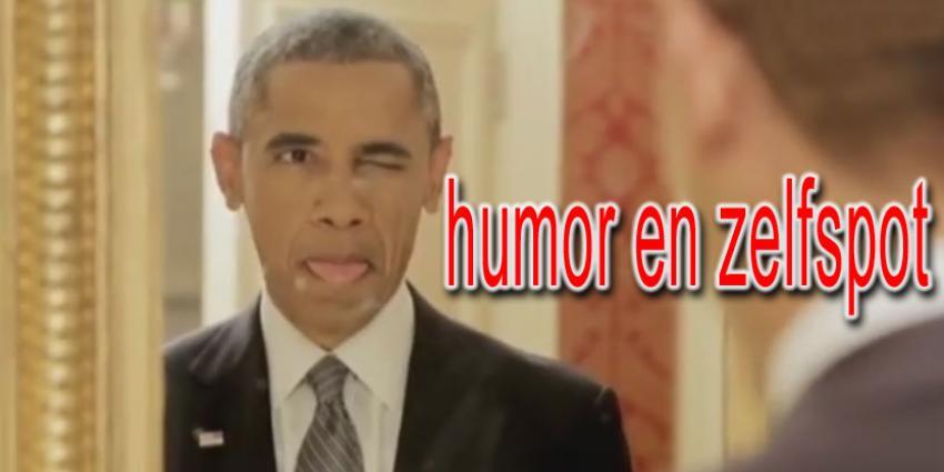 Obama toont zijn menselijke leiderschap
