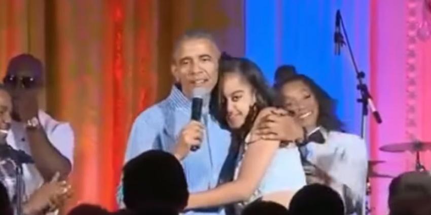 Malia Obama gespot op dansvloer van nachtclub aan het Leidseplein