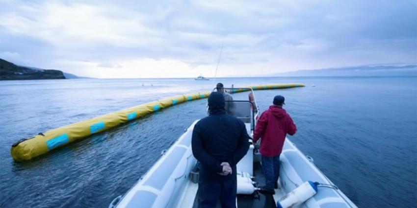 Verzamelen plastic soep voor Nederlandse kust van start