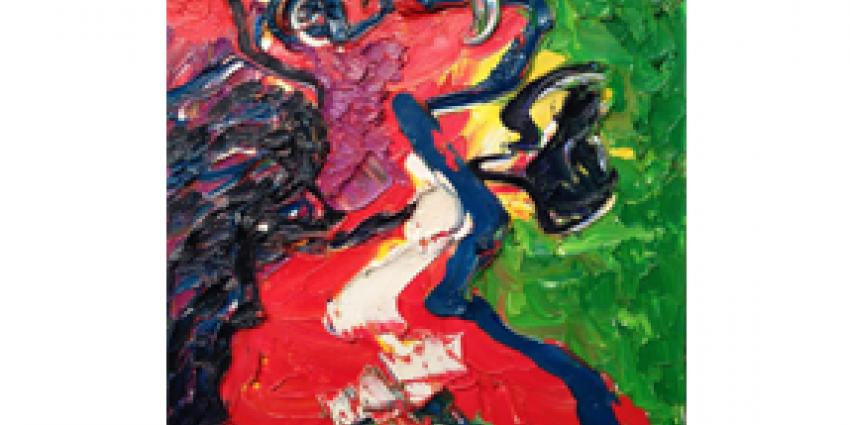 Twee dure schilderijen van Karel Appel gestolen uit de Okker Art Gallery
