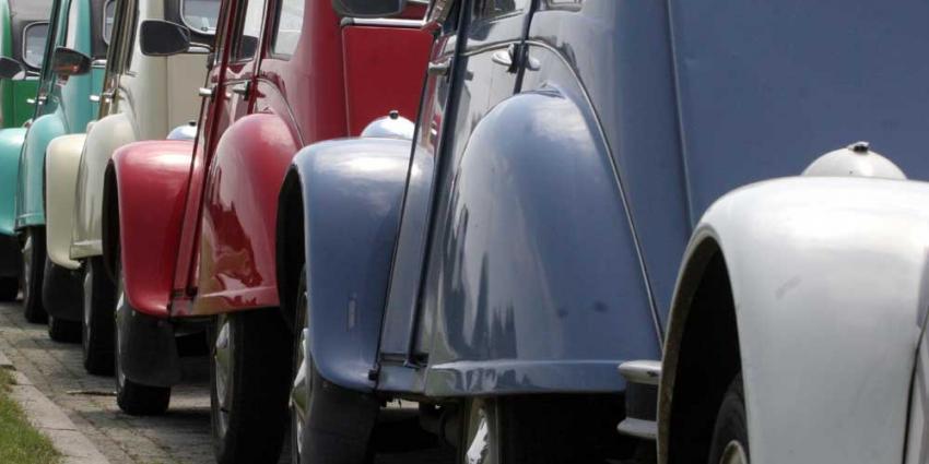 Foto van lelijke eend 2CV auto | Archief EHF