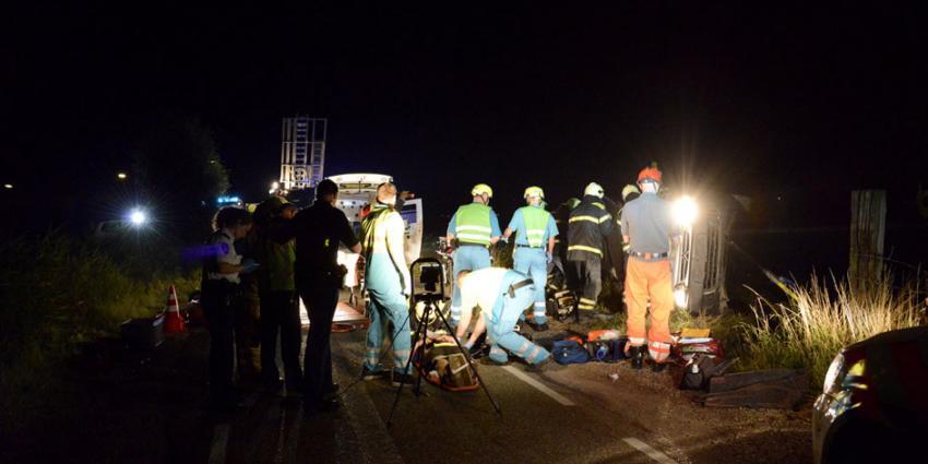 foto van ongeval vrachtwagen | bon archief