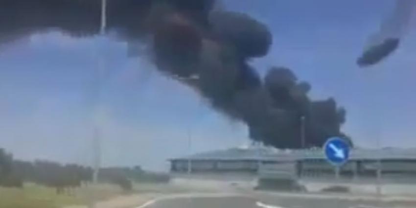 Militair transportvliegtuig neergestort in Spanje