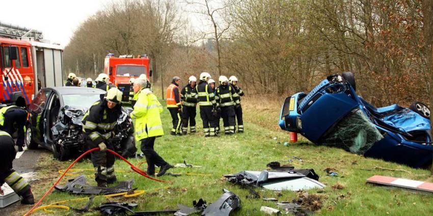 Drie gewonden na ernstig ongeval Ruinen