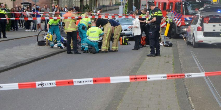 Fietser raakt ernstig gewond bij aanrijding in Amsterdam