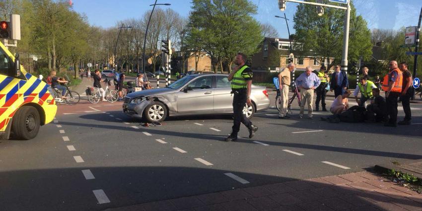 Motorrijder gewond bij aanrijding in Uithoorn