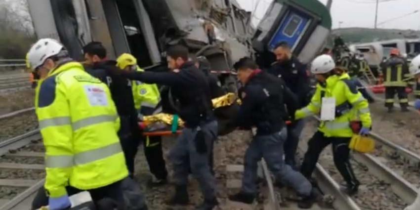 Drie doden en meer dan honderd gewonden bij spoorwegongeval in Milaan