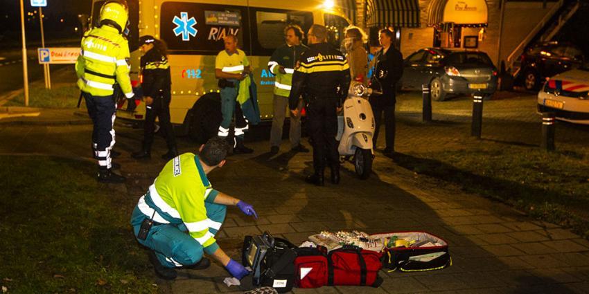 Gewonde bij ongeval met scooter in Rosmalen