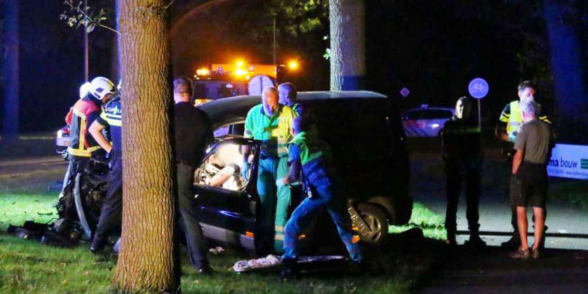 Gewonde bij eenzijdig ongeval in Zuidlaren