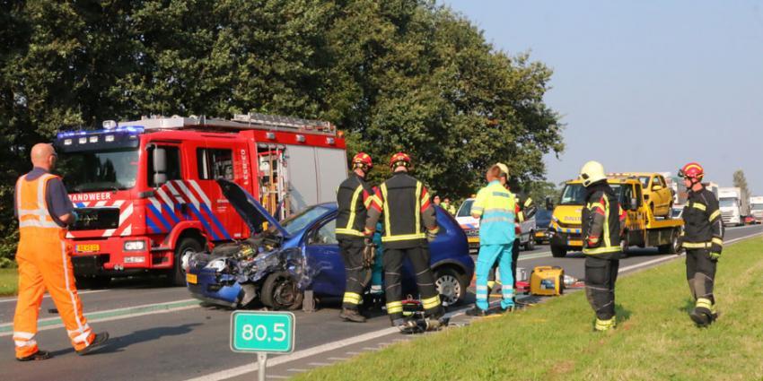 Zwaar gewonde bij ongeval op N34 bij Borger