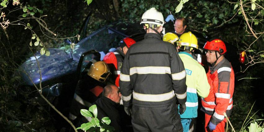 Twee mensen gewond bij ongeval in Son