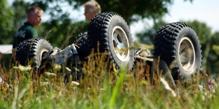 Dode en zwaar gewonde bij ongeval met quad Farmsum