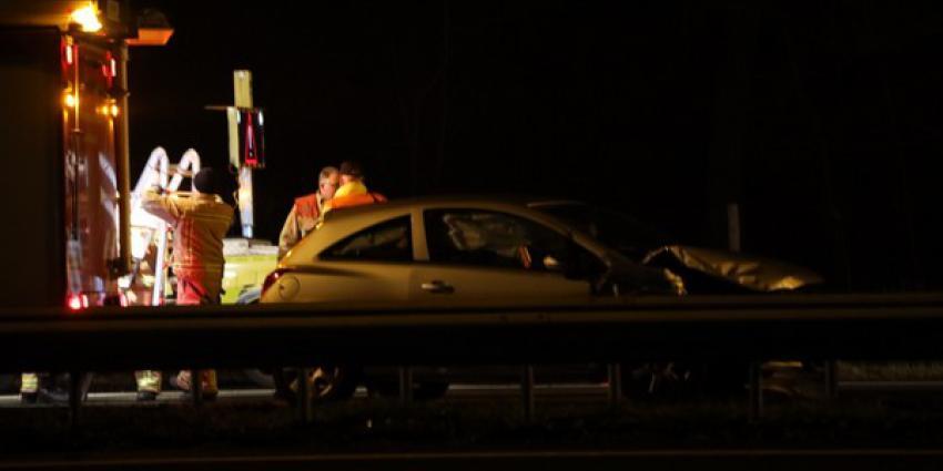 Ongeval met 12 voertuigen op A2 bij Best
